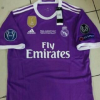Kaos Jersey Real Madrid Away Final Liga Champions 2017