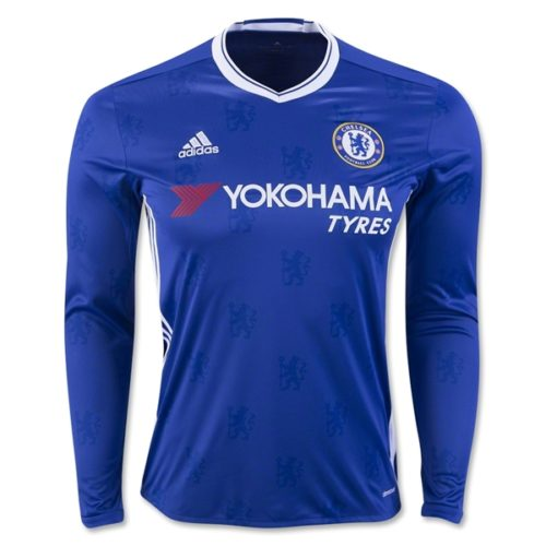Jersey Chelsea Home Long Sleeve 2016-2017