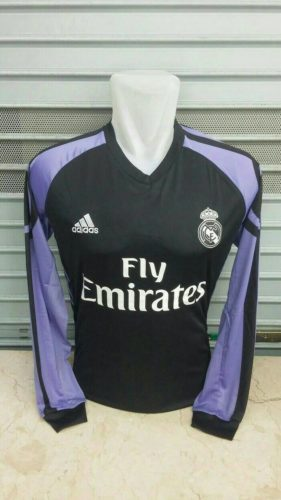 Jersey Real Madrid 3rd Long Sleeve 2016-2017