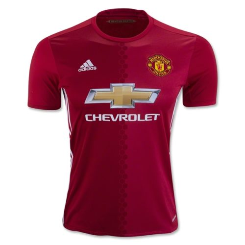 Kaos Jersey Manchester United Home 2016-2017