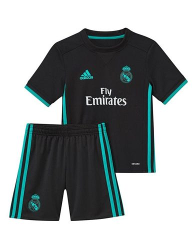 Jersey Bola Real Madrid Away Kids 2017-2018
