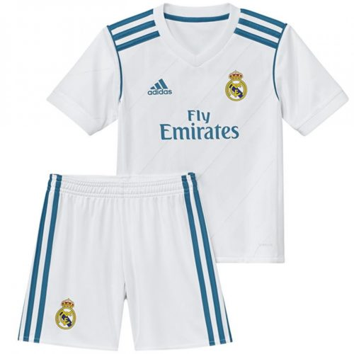 Jersey Bola Real Madrid Home Kids 2017-2018