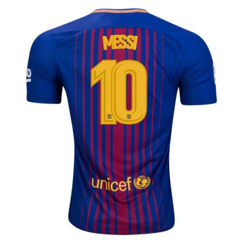 Jersey Barcelona Home 2017-2018 Lionel Messi