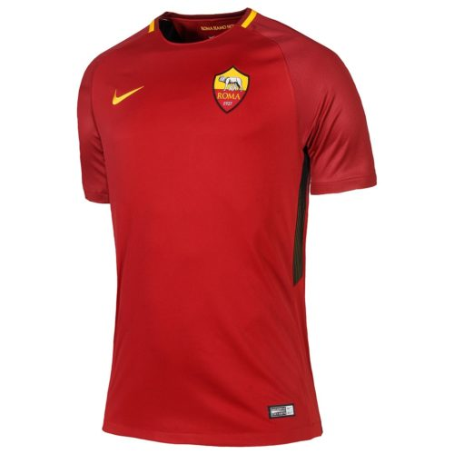 Jersey Bola AS Roma Home 2017-2018