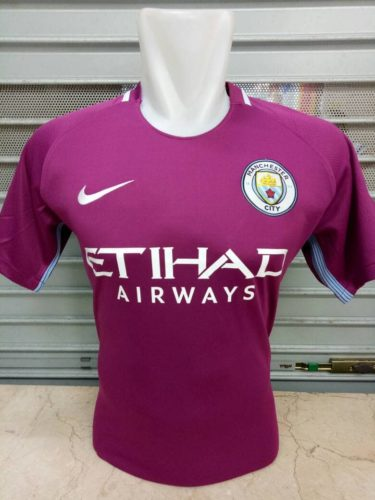 Jersey Bola Manchester City Away 2017-2018