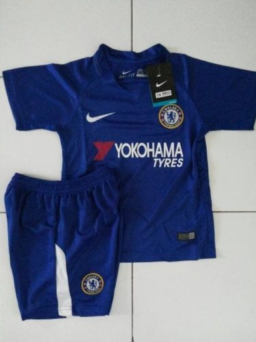 Jersey Bola Chelsea Home Kids (Anak) 2017-2018