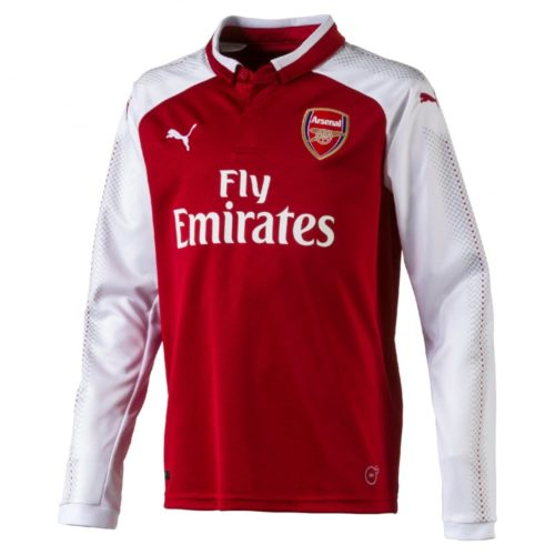 Jersey Arsenal Home Lengan Panjang (Long Sleeve) 2017-2018