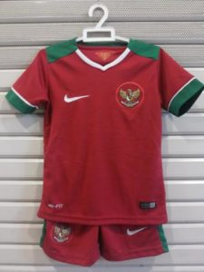 Jersey Bola Timnas Indonesia Home Kids 2017-2018