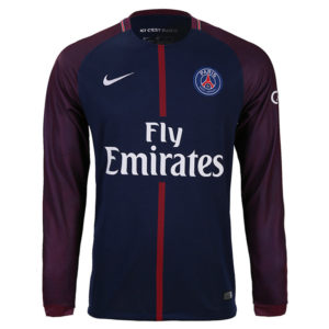 Jersey Bola PSG Home Long Sleeve 2017-2018