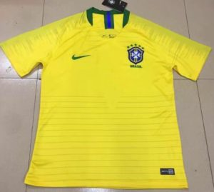 Jersey Bola Brazil Home World Cup 2018