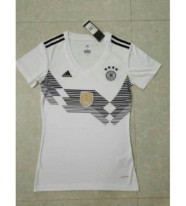 Jersey Bola Jerman Home Ladies World Cup 2018