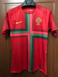 Jersey Bola Portugal Home World Cup 2018