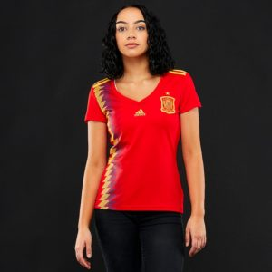 Jersey Spanyol Home Ladies World Cup 2018